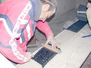 consolidamento fibre di carbonio