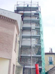 consolidamento campanile